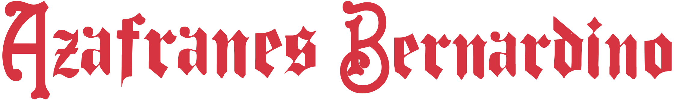 Azafranes Bernardino